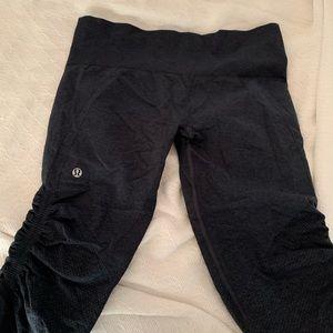 lululemon athletica Pants - Ebb to Flow Crop size 10